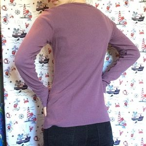 Disney Tops - Disney Couture Daisy Thermal Long Sleeve Top